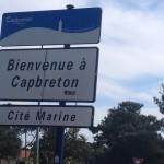 PANNEAU ENTREE CAPBRETON